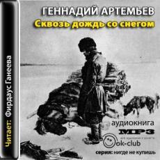 Слушать аудиокнигу Артемьев Геннадий - Сквозь дождь со снегом
